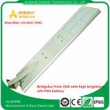 Projekt gehandhabte straßenlaterneder Straßen-Beleuchtung-5years Solarder garantie-LED
