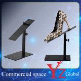 Schuh-Bildschirmanzeige-Zahnstangen-Edelstahl-Schuh-Zahnstangen-Schuh-Standplatz-Schuh-Regal-Schuh-Halter-Schuh-Ausstellung-Schuh-Aufsatz des Schuh-Ausstellungsstand-(YZ161510)