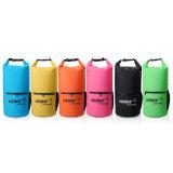 sacchetto asciutto impermeabile del PVC 500d con la chiusura lampo e la casella della maglia
