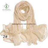 Повелительница Способ Шарф шали равнины конструкции 100% Silk новая