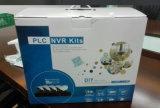 Installationssatz CCTV-Systems-Starkstromleitungs-Kommunikation PLC-NVR (PLCA9104WH20)