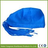 Protezione chirurgica non tessuta a gettare, il dottore Cap con i legami