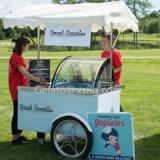 Paletas Popsicle-Karre mit freiem Firmenzeichen-Aufkleber