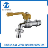 Medio Brass Bibcock Válvula para agua