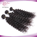 8A等級の毛のブレードのインドのバージンの人間の毛髪の深い波の毛の部分