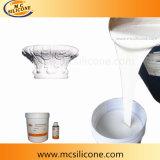 Zweiteiliger flüssiger Silikon-Gummi des Silikon-Gummi-RTV-2 für Gips-Gesims-Form