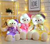 Amostra grátis New Fashion Christmas Gifts Stuffed LED Teddy Bear