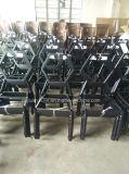 Кафе трактира металла обедая стулы с шестиугольным задним люнетом (JY-R07)