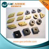 鋼鉄、鋳鉄、ステンレス鋼のための炭化物の挿入