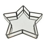 도매 장식적인 개인화된 금속 보석 과일 유리제 전시 쟁반