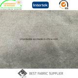 Micro tessuto 100% del cappotto del tessuto della pelle della pesca del raso della fibra 140GSM del poliestere
