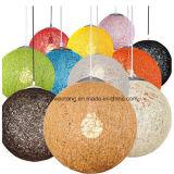 등나무 펜던트 빛에 있는 실내 장식적인 현대 램프 싼 가격