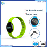 Wristband astuto di salute del telefono della vigilanza di frequenza cardiaca H8 Bluetooth