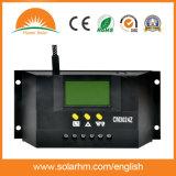 Controlador solar quente da carga 30A das vendas 12V 24V auto