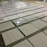 Polido Branco / bege / verde / preto de pedra de mármore por telha de assoalho do Slab