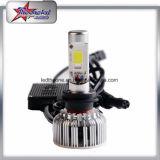 Éclairage LED automatique haut-bas lumineux superbe de véhicule du faisceau H4 RVB de 40W 4800lm avec le contrôle de Bluetooth