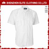 O OEM presta serviços de manutenção às camisas brancas do trabalho da polícia da alta qualidade da segurança do protetor (ELTHVJ-273)