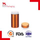 Bottiglie cromate plastica arancione dell'HDPE di Schang-Hai Gensyu 13oz