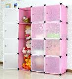 Wardrobe simples de DIY com tamanho 45X35cm dos painéis (FH-AL001231-12)
