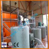 La régénération d'huile moteur noire utilisée la machine avec la certification CE
