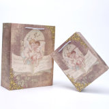 Бумажный мешок с восхитительным печатание ангела