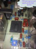 8kw Machine van het Lassen van de hoge Frequentie de Plastic voor het Bovenleer van Schoenen