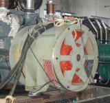 400Hz 3p 5kw 32ポーランド人1500rpmのブラシレス同期発電機(交流発電機)