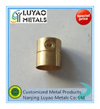 SoemCNC, der mit Messing/Kupfer maschinell bearbeitet
