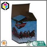 لون يطبع ورق مقوّى علبة جعة مصنع جعة صندوق مصنع