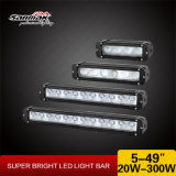 60W barre tous terrains d'éclairage LED de 11 pouces pour la jeep