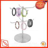 De regelbare Tribune van de Vertoning van het Roestvrij staal voor de Sjaal van de Handtas van de Halsband van Juwelen