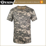 Acu Camo Quick-Drying col rond manches courtes hommes T-Shirt