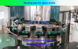 Máquina de rellenar de la cerveza carbónica automática de la botella de cristal