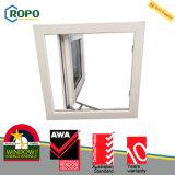 Janela de encolhimento de dupla janela UPVC com tela de insetos Retractale