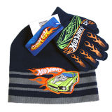 Шлем шаржа мальчика и перчатка (JRK099)