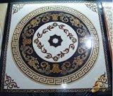 Azulejo de oro Polished de la alfombra del suelo de cerámica con la luz fluorescente