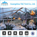 Tenda de banquete de casamento transparente em alumínio para 1000 pessoas