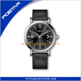 Calificar su propio reloj de Miyota de la insignia venda del cuero genuino