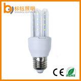 China de fábrica del precio barato en forma de U LED 5W luz del maíz del bulbo ahorro de energía E27 blanco puro con 2835 SMD