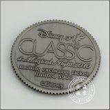 3D moneta di rame capa, moneta su ordinazione del metallo (GZHY-JZ-014)