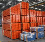 Sostegni a cassone d'acciaio industriali della cremagliera