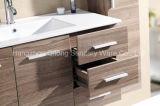 Vanidad de madera del MDF del color con la cabina lateral en cuarto de baño