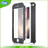 고품질 360 도 iPhone 7plus를 위한 자유로운 강화 유리 PC 덮개를 가진 가득 차있는 방어적인 호리호리한 단단한 PC 셀룰라 전화 상자