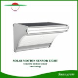 Lámparas de pared solares al aire libre de trabajo más nueva del jardín de 2017 las 24 del LED de microonda del radar de movimiento del sensor modos de la luz 450lm 4 solares