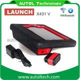 Машина первоначально автомобиля старта X431 v диагностическая для полностью уточнения поддержки WiFi/Bluetooth автомобилей он-лайн