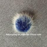 Billes douces et mignonnes de la fourrure de Fox de Faux POM Poms