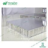 家具のボードのための絶縁されたミラーのアルミニウム蜜蜂の巣のパネル