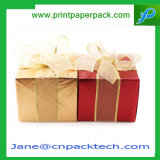 Fashion Square a favor de la caja de regalo papel de embalaje