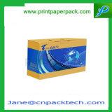 Boîte-cadeau de empaquetage de faveur de l'E-Cannelure CD/Dvd d'éclairage LED fait sur commande de bande avec ISO9001