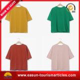 Dickflüssige Großhandelsbaumwolinneres langes Hülsen-T-Shirt für Erwachsene